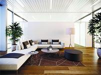 Уникальный дизайн реечного потолка